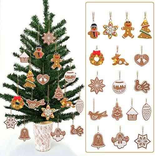 Tinksky Copo de nieve colgantes navidad adornos árbol de fiesta ...